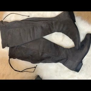 Like new over the knee boots.